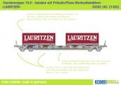 Kombimodell 20382.01 Hupac SBB Taschenwagen 2-achs Ep.6