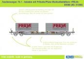 Kombimodell 20388.01 Hupac SBB Taschenwagen 2-achs Ep.5/6