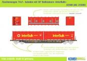 Kombimodell 22300.01 HUPAC Taschenwagen Ep.6