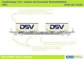Kombimodell 22335.01 Hupac SBB Taschenwagen 4-achs Ep.5/6