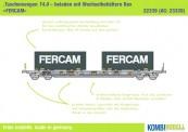 Kombimodell 22339.01 Hupac SBB Taschenwagen 4-achs Ep.5/6