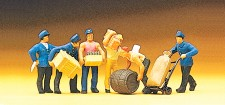 Preiser 10016 Güterbodenpersonal