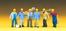 Preiser 10033 Gleisbauarbeiter