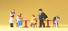 Preiser 10368 Touristen, Kellner, Kunstmaler