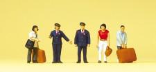 Preiser 10570 Chinesisches Bahnpersonal, Reisende
