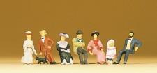 Preiser 12137 Sitzende Figuren um 1900
