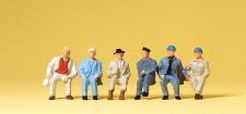 Preiser 14145 Arbeiter sitzend