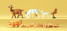 Preiser 14162 Ziegen & Schweine