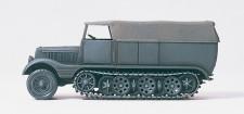 Preiser 16538 SdKfz11 Halbketten-ZM geschlossen grau