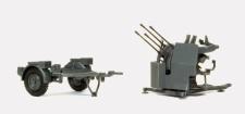 Preiser 16582 2 cm Flakvierling 38. Mit SdA