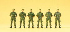 Preiser 16831 Infanteristen stehend
