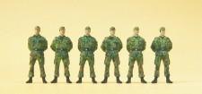 Preiser 16839 Soldaten stehend BW