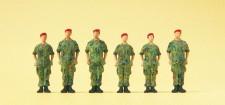 Preiser 16841 Soldaten stehend BW