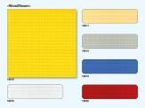 Preiser 19617 Wandfliesen Sandfarben. 3 Platten 95x95