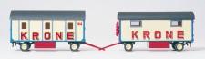 Preiser 21050 Mannschaftswagen mit 3 Abteilen, Pack-