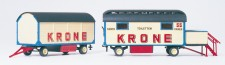 Preiser 21052 Damen WC & Packwagen KRONE