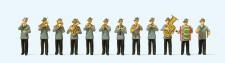Preiser 24611 Schützenkapelle. 12 Miniaturfiguren