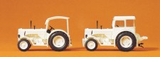 Preiser 24679 Hanomag R55 Traktor weiß