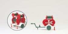 Preiser 31254 Ziegler 2B/2C Schlauchanhänger