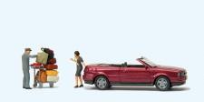 "Preiser 33256 ""Audi Cabrio. """"Das muss passen!"""""""