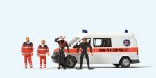 Preiser 33261 VW T5 Kasten BRK Wasserwacht