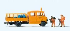 Preiser 33262 Straßenmeisterei. Mercedes-Benz L 407 D.