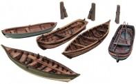 Artitec 50.122 Ruderboote, 5 St.