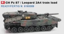 Artitec 6160089 CH Pz 87 / Leopard 2A4 train load