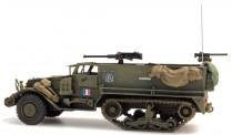 REE Modeles AB002 Halbkettenfahrzeug M5A1 franz. Armee