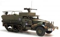 REE Modeles AB004 Halbkettenfahrzeug M5A1 franz. Armee
