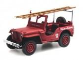REE Modeles CB-090 Jeep mit Leitern Sapeurs Pompiers