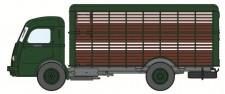 REE Modeles CB046 Panhard Movic Viehaufbau grün/braun