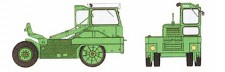 REE Modeles CB063 Tracteur Kangourou #223 grün