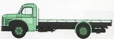 REE Modeles CB109 Berliet GLC6 Prischen-Lkw Sacs de Charbo