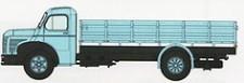 REE Modeles CB110 Berliet GLC6 Prischen-Lkw hellblau
