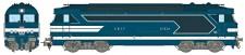 REE Modeles MB067S SNCF Diesellok Serie BB 67400 Ep.3/4