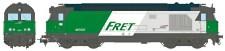 REE Modeles MB069SAC SNCF FRET Diesellok Serie BB 67400 Ep.5