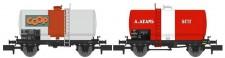 REE Modeles NW-043 SNCF Kesselwagen-Set 2-tlg Ep.3