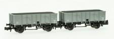 REE Modeles NW-054 MIDI offene Güterwagen-Set 2-tlg Ep.2