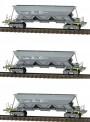 REE Modeles NW-118 ECR Selbstentladewagen-Set 3-tlg Ep.5/6
