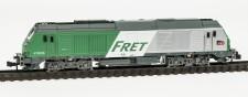 REE Modeles NW112 SNCF Fret Diesellok Serie BB75000 Ep.5/6