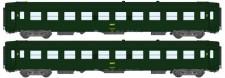 REE Modeles NW137 SNCF Personenwagen-Set 2-tlg Ep.4