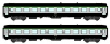 REE Modeles NW144 SNCF Personenwagen-Set 2-tlg Ep.5
