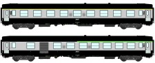 REE Modeles NW148 SNCF Personenwagen-Set 2-tlg Ep.5