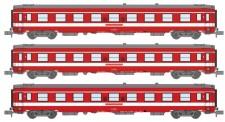 REE Modeles NW155 SNCF Le Capitole Personenwagen-Set 3-tlg