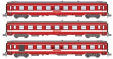REE Modeles NW156 SNCF Le Capitole Personenwagen-Set 3-tlg