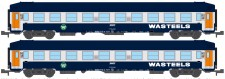 REE Modeles NW215 SNCF Wasteels Schlafwagen-Set 2-tlg Ep.4