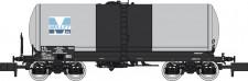 REE Modeles NW229 SNCF MILLET Kesselwagen 4-acsh Ep.5