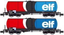 REE Modeles NW239 SNCF elf Kesselwagen-Set 2-tlg .Ep.4