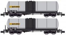 REE Modeles NW241 SNCF SIMOTRA Kesselwagen-Set 2-tlg. Ep.5